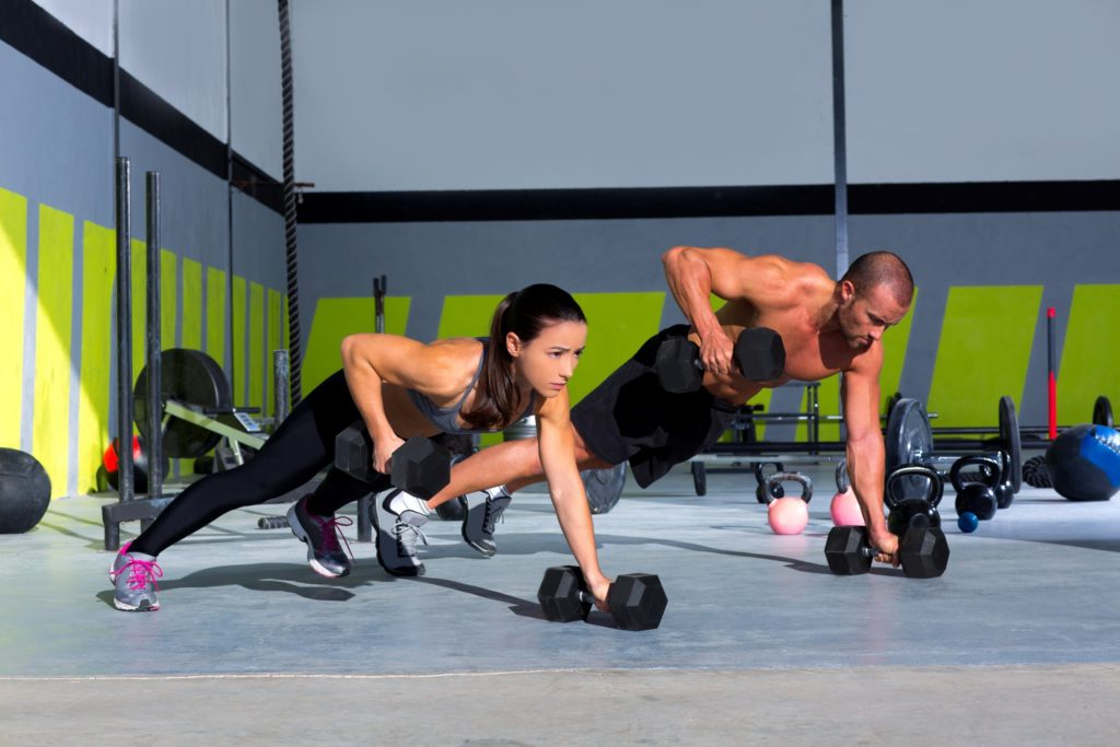 fight belly fat with strength training