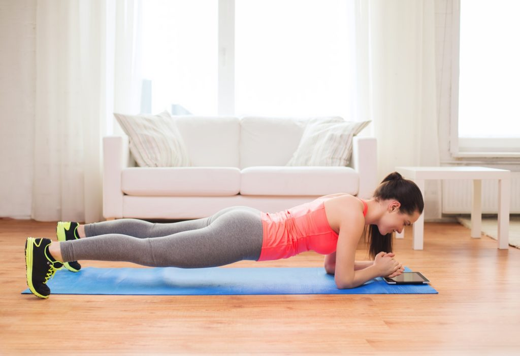 A strong core helps to improve your running economy