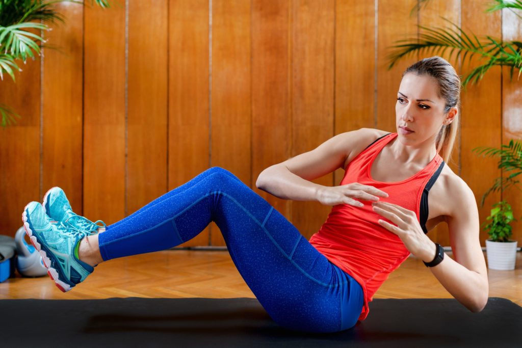 Fitness beginners can train at home