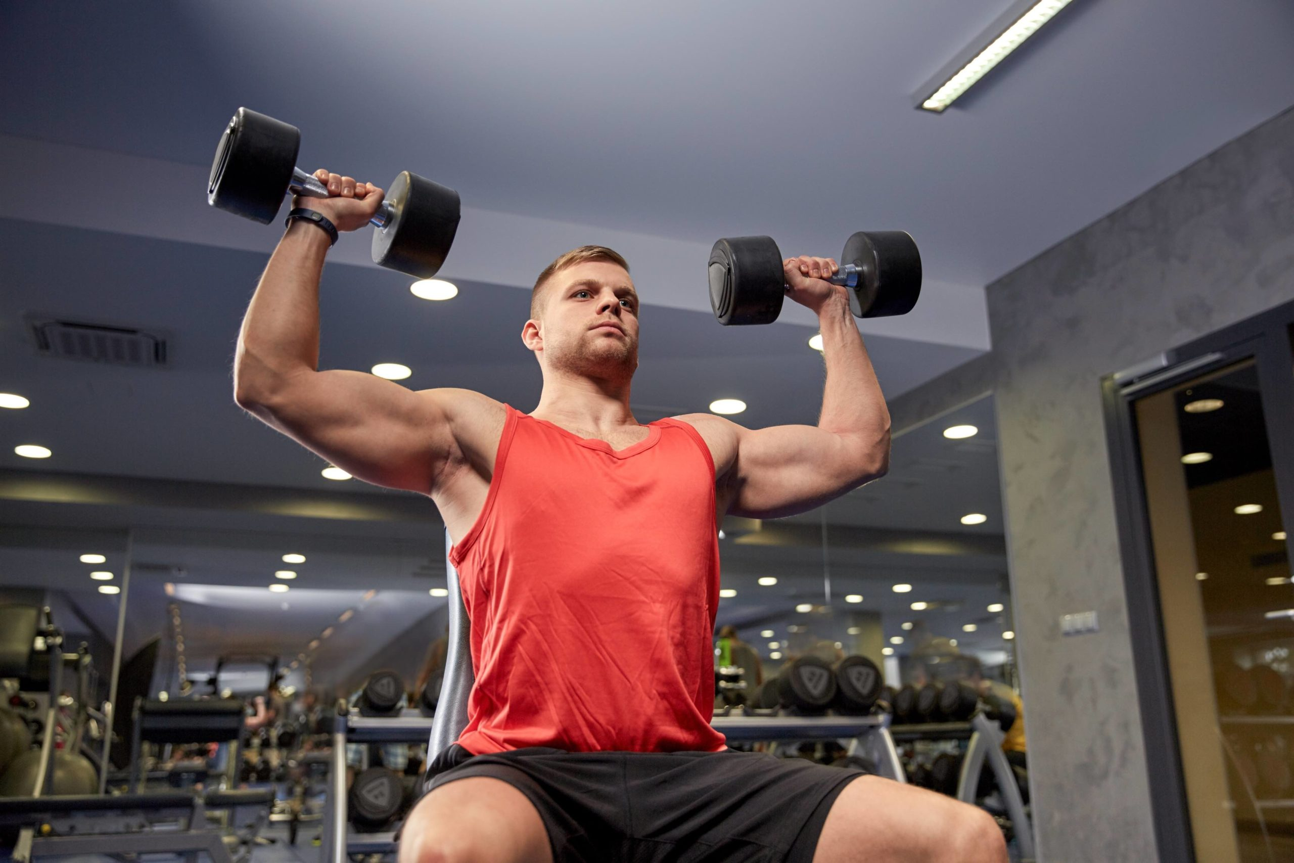 Absolute strength can be more important than muscle mass