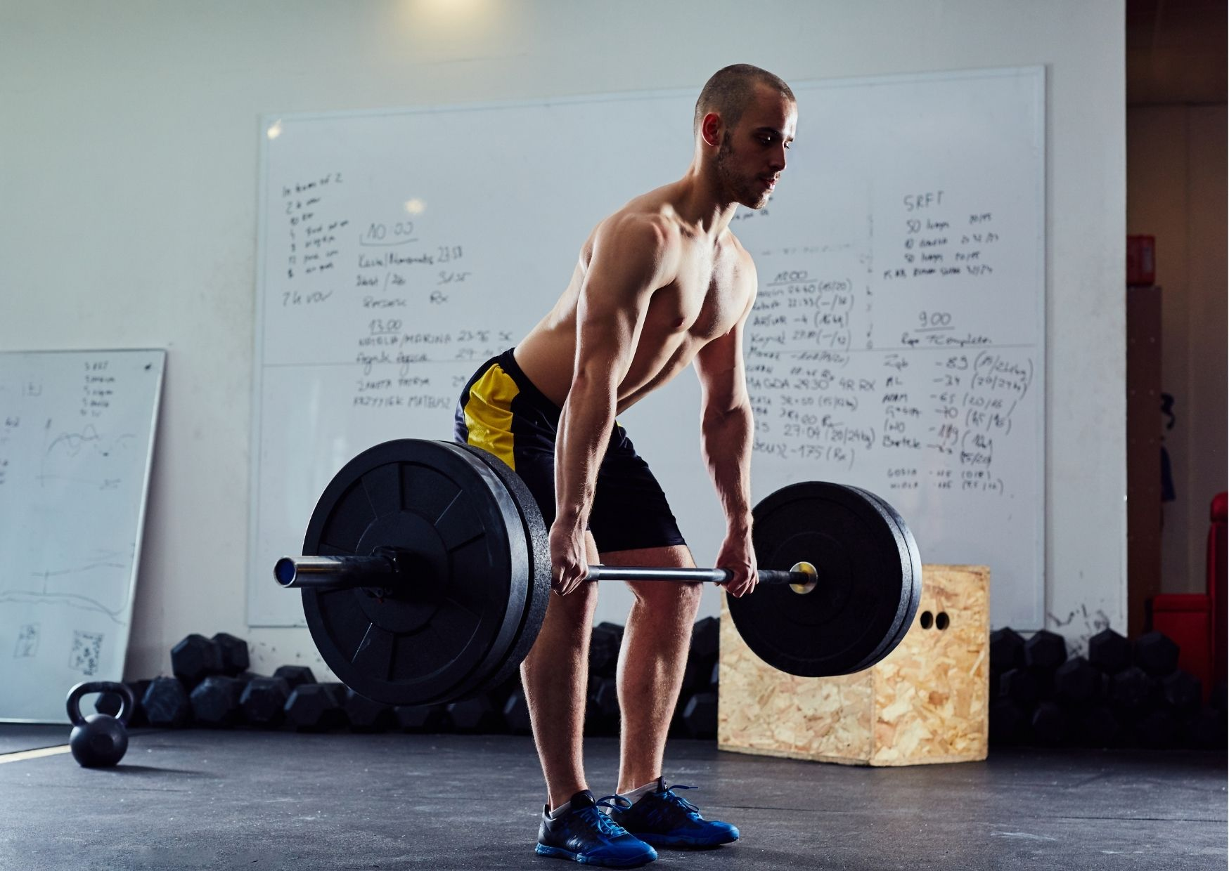 Deadlifts are not only a great exercise for the back