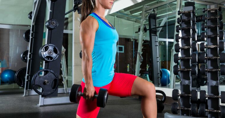 What you should pay attention to when doing forward lunges